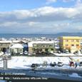 10 北小松 (3) 北小松駅から見た琵琶湖の眺め