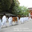 2011.05.06up<br/>献饌供御人行列(京都・下鴨神社) 2010年-4