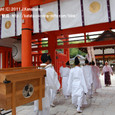 2011.05.06up<br/>献饌供御人行列(京都・下鴨神社) 2010年-5