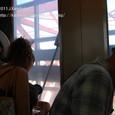 2011.08.12up<br/>2010年夏、東京にて(02-1) 東京タワー下りエレベーターにて