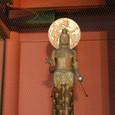 2011.08.22up<br/>2010年夏、東京にて(07-3) 浅草・雷門(裏側)の仏様、金竜