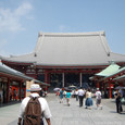 2011.08.28up<br/>2010年夏、東京にて(10-3) 浅草寺本堂1
