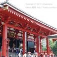 2011.08.28up<br/>2010年夏、東京にて(10-4) 浅草寺本堂2