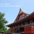2011.08.28up<br/>2010年夏、東京にて(10-6) 浅草寺本堂3