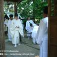 献饌供御人行列(08-03) 伊豆神社にて、鮒(ふな)の神事