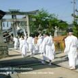 献饌供御人行列(09-03) 神事の後、再出発