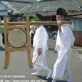 献饌供御人行列(11-02) 堅田町内巡行 ( 後編 )