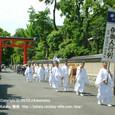 献饌供御人行列(18-02) 先頭は 下鴨神社の神主さん ( 後編 )
