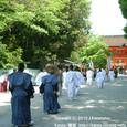 献饌供御人行列(20-02) 京都・下鴨神社巡行 ( 前編 )