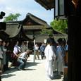 献饌供御人行列(23) 京都・下鴨神社にて 献饌の神事始まる (1)