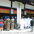 献饌供御人行列(26) 京都・下鴨神社にて 献饌の神事始まる (4)