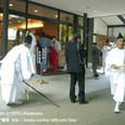 献饌供御人行列(27-02) 京都・下鴨神社 控室にて