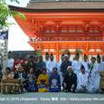 献饌供御人行列(28) 京都・下鴨神社にて 記念撮影