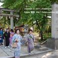【葵祭前儀「献撰供御人行列」】 2011年度・堅田町内巡行編(1-4)