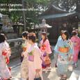【葵祭前儀「献撰供御人行列」】 2011年度・堅田町内巡行編(3-1)