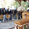 【葵祭前儀「献撰供御人行列」】 2011年度・堅田町内巡行編(3-3)