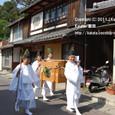 【葵祭前儀「献撰供御人行列」】 2011年度・堅田町内巡行編(4-1)
