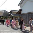 【葵祭前儀「献撰供御人行列」】 2011年度・堅田町内巡行編(4-5)