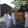 【葵祭前儀「献撰供御人行列」】 2011年度・堅田町内巡行編(4-7)