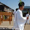 【葵祭前儀「献撰供御人行列」】 2011年度・堅田町内巡行編(5-7)