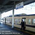2010.02.05up Station/駅117 近江舞子駅1 駅員さんの交代とJR117系