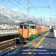 2009.02.13up Station/駅083 蓬莱駅2 JR113系(湘南色)