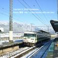 2009.02.14up Station/駅084 志賀駅1 JR117系(福知山色)