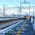 2009.02.25up Station/駅098 志賀駅3 JR113系(湘南色)