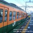 2009.02.25up Station/駅100 志賀駅5 JR113系(湘南色)