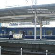 2008.06.06up Station/駅030 堅田駅24 寝台列車の通過