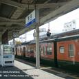 2008.06.17up Station/駅033 堅田駅27 JR113系(湘南色)