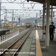 2008.08.05up Station/駅045 堅田駅39 JR113系(湘南色)、117系(福知山色)