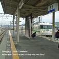 2008.08.05up Station/駅046 堅田駅40 JR117系(福知山色)