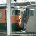 2008.08.20up Station/駅052 堅田駅46 JR113系(異色連結)