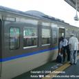 2008.08.21up Station/駅054 堅田駅48 JR113系