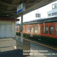2008.09.03up Station/駅057 堅田駅51 JR113系(湘南色)
