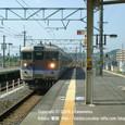 2008.11.03up Station/駅063 堅田駅57 JR113系入線