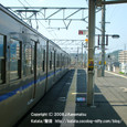 2008.11.04up Station/駅064 堅田駅58 JR113系
