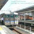 2008.11.15up Station/駅070 堅田駅64 JR113系(異色)