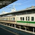 2008.11.16up Station/駅071 堅田駅65 JR117系(異色連結)
