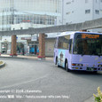 2008.11.23up Station/駅075 堅田駅69 アルプラザ堅田と江若バス