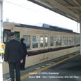 2008.05.12up Station/駅022 堅田駅17 女性車掌さんとJR117系