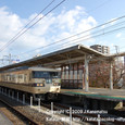 2009.12.06up 2011.12.08up Station/駅111 堅田駅83 JR117系