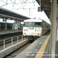 2008.05.23up Station/駅025 堅田駅19 JR117系(福知山色)