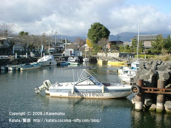 琵琶湖畔の入り江