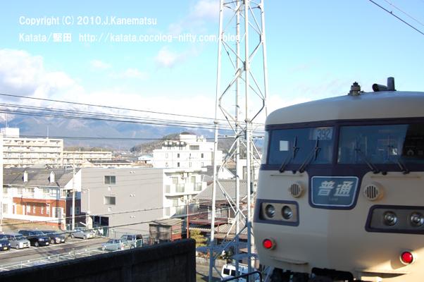 JR117系、堅田駅出発(後編)