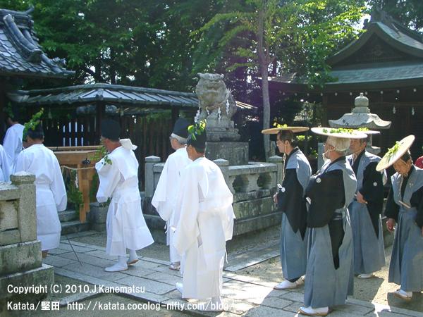 伊豆神社にて、神事待ち2