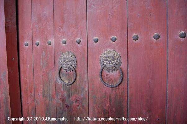 佛國寺(安養門の扉)
