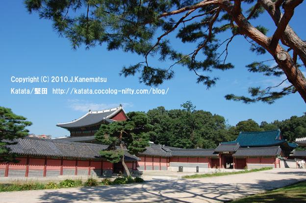 昌徳宮(宣政殿)