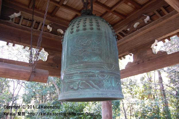 祥瑞寺、静かな朝の鐘